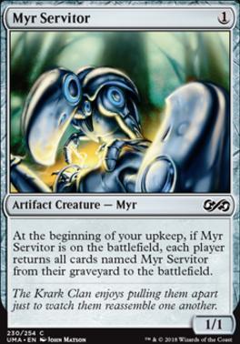 Ultimate Masters Foil: Myr Servitor