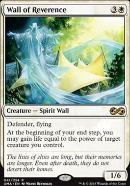 Ultimate Masters Foil: Wall of Reverence