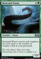Ultimate Masters Foil: Boneyard Wurm