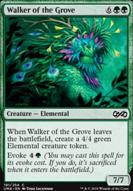 Ultimate Masters Foil: Walker of the Grove