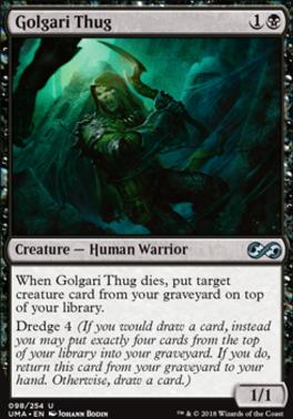 Ultimate Masters Foil: Golgari Thug