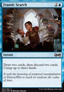 Magic The Gathering Mtg X1 Frantic Search
