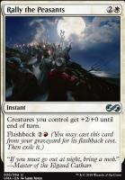 Ultimate Masters Foil: Rally the Peasants
