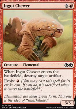 Ultimate Masters Foil: Ingot Chewer