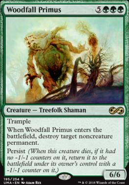 Ultimate Masters: Woodfall Primus