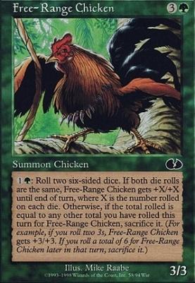 Unglued: Free-Range Chicken