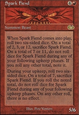 Unglued: Spark Fiend