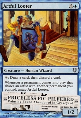 Unhinged Foil: Artful Looter