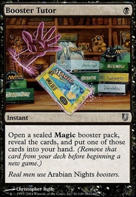 Unhinged: Booster Tutor