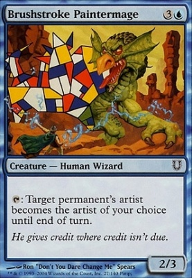 Unhinged Foil: Brushstroke Paintermage