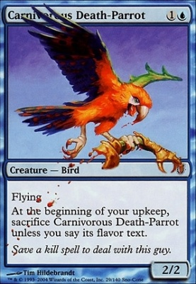 Unhinged: Carnivorous Death-Parrot