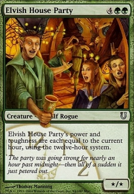 Unhinged Foil: Elvish House Party
