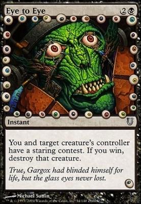Unhinged: Eye to Eye
