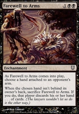 Unhinged: Farewell to Arms