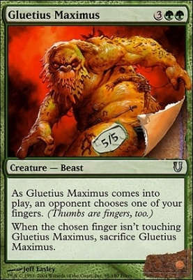 Unhinged Foil: Gluetius Maximus