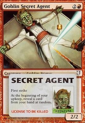 Goblin Secret Agent | Unhinged | Card Kingdom