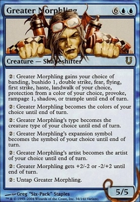 Unhinged Foil: Greater Morphling