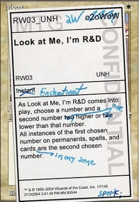 Unhinged: Look at Me, I'm R&D
