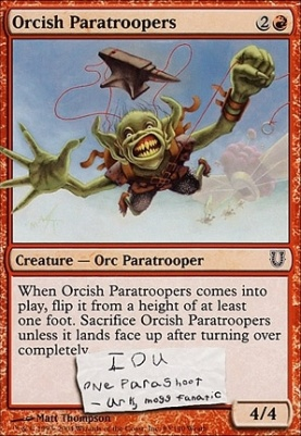Unhinged: Orcish Paratroopers