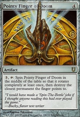Unhinged: Pointy Finger of Doom