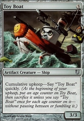 Unhinged: Toy Boat