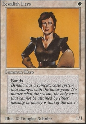 Unlimited: Benalish Hero