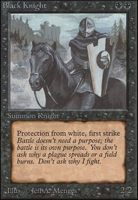 Unlimited: Black Knight