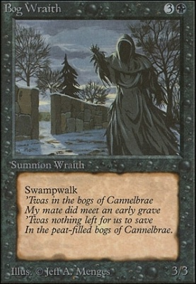 Unlimited: Bog Wraith