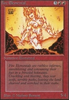 Unlimited: Fire Elemental