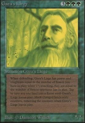 Unlimited: Gaea's Liege