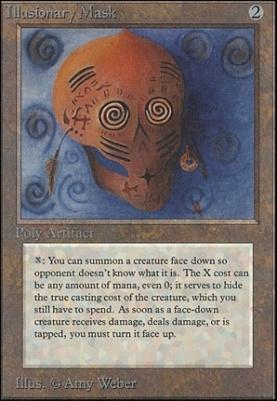 Unlimited: Illusionary Mask