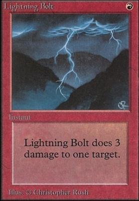 Unlimited: Lightning Bolt