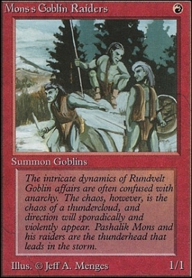 Unlimited: Mons's Goblin Raiders
