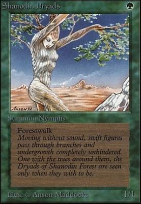 Unlimited: Shanodin Dryads