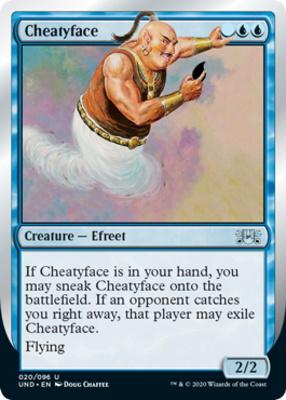 Unsanctioned: Cheatyface