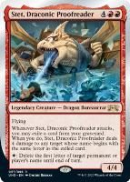 Unsanctioned: Stet, Draconic Proofreader