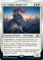 Unsanctioned: Syr Cadian, Knight Owl