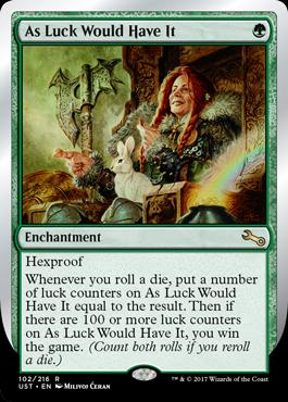 Unstable: As Luck Would Have It