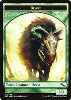 Unstable: Beast Token (Full Art)