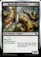 Unstable Foil: Big Boa Constrictor