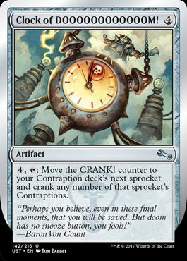 Unstable: Clock of DOOOOOOOOOOOOM!