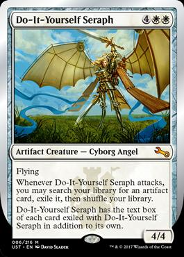 Unstable: Do-It-Yourself Seraph