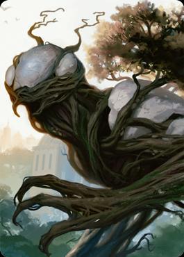 Unstable: Elemental Token (Full Art) [White/Green]