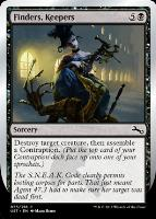 Unstable Foil: Finders, Keepers