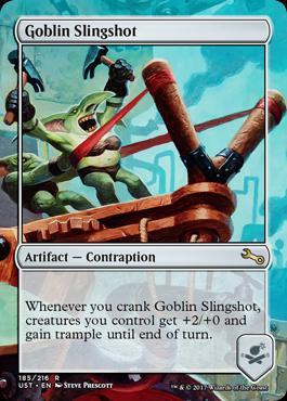 Unstable: Goblin Slingshot