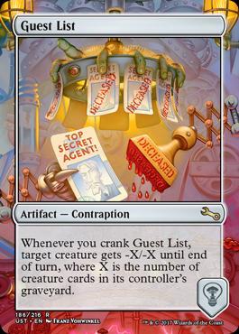 Unstable: Guest List
