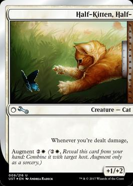Magic The Gathering Cards | Unstable | Half-Kitten, Half- |