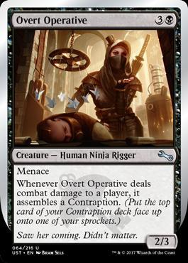 Unstable: Overt Operative