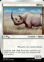 Unstable: Rhino-