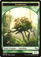 Unstable: Saproling Token (Full Art)
